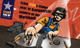 Kampagne SRARt you up | DJ-Werkbank