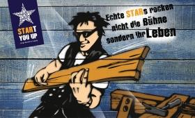 Kampagne SRARt you up   Rockstar-Zimmermann