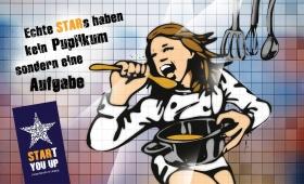Kampagne SRARt you up   Sängerin-Küche