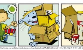 Comicstreifen Leos-Rappelkiste-7