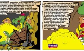 Frutties | Comic für Verkaufsförderung