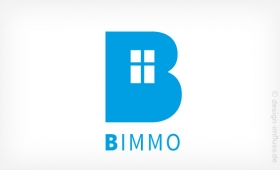 Logo B Immobilien Muster