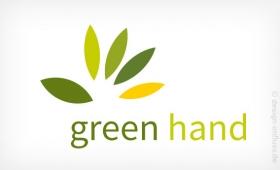 Logo Green Hand Muster