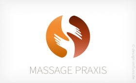 Logo Massage Praxis Muster