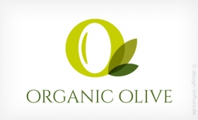 Logo Organic Olive Muster