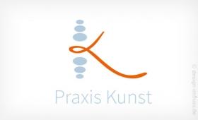 Logo Praxis mit K Muster