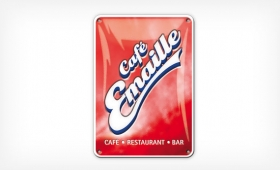 Café Emaille | orange D