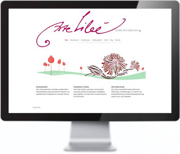 Arte Lilee Webseite