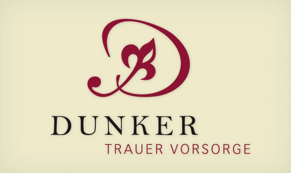 Logo für das Bestattungsunternehmen Dunker in Leipzig