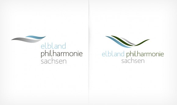 Logo Alternativen der Elbland Philharmonie Sachsen