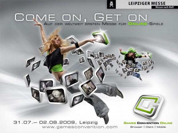 Key Visual 1 für die Games Convention Online der Leipziger Messe - GCO
