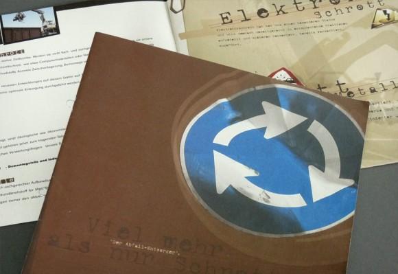 Folder für Hofmann Entsorgung, Rastatt