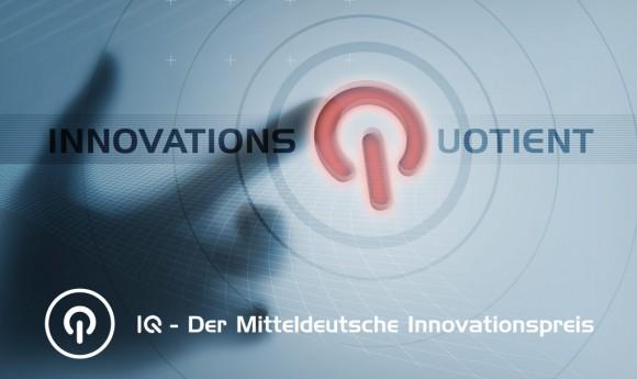 Key Visual für den IQ-Innovationspreis Sachsen