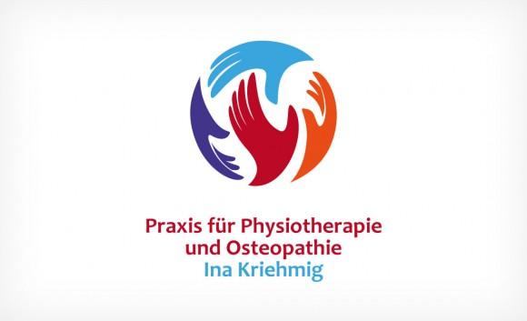 Logo Praxis für Physiotherapie und Osteopathie Ina Kriehmig