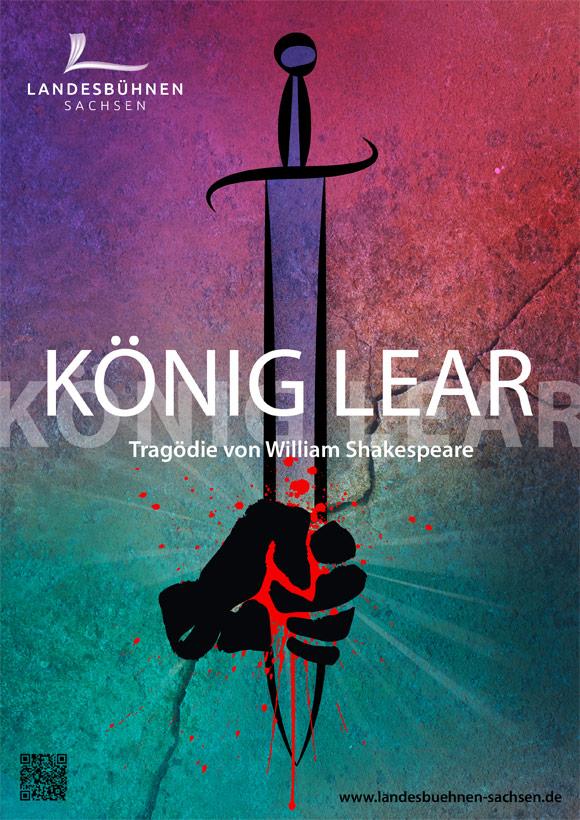 Premiereplakat König Lear