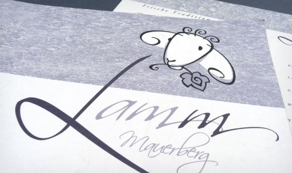 Logo für das Restaurant Lamm am Mauersberg