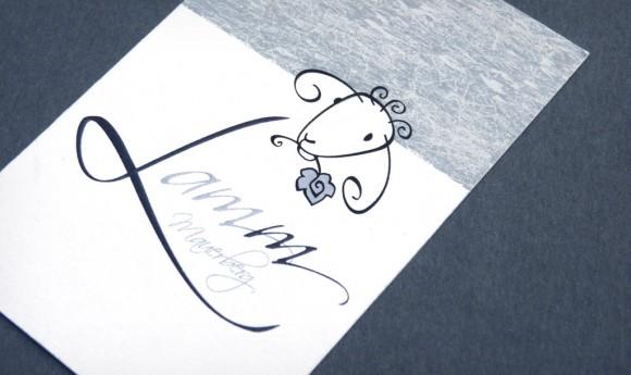 Visitenkarte für das Restaurant Lamm am Mauersberg