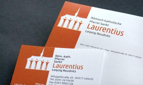 Logo der Römisch-katholischen Pfarrei Sankt Laurentius Leipzig Reudnitz