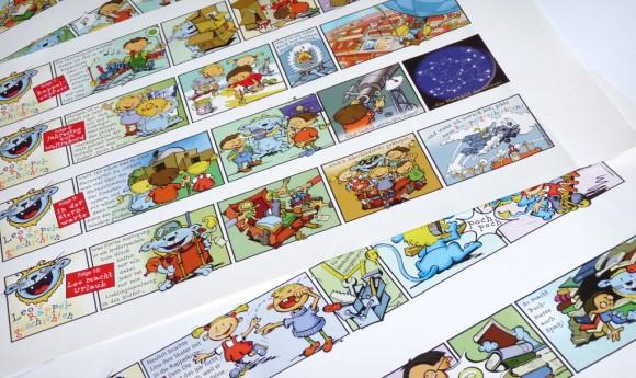 Comic zum City Leipzig Maskottchen »Leo«