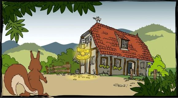 Loerch Haselnuss Destillatt Comic Animation 2
