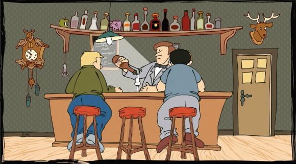 Loerch Haselnuss Destillat Comic Animation 4