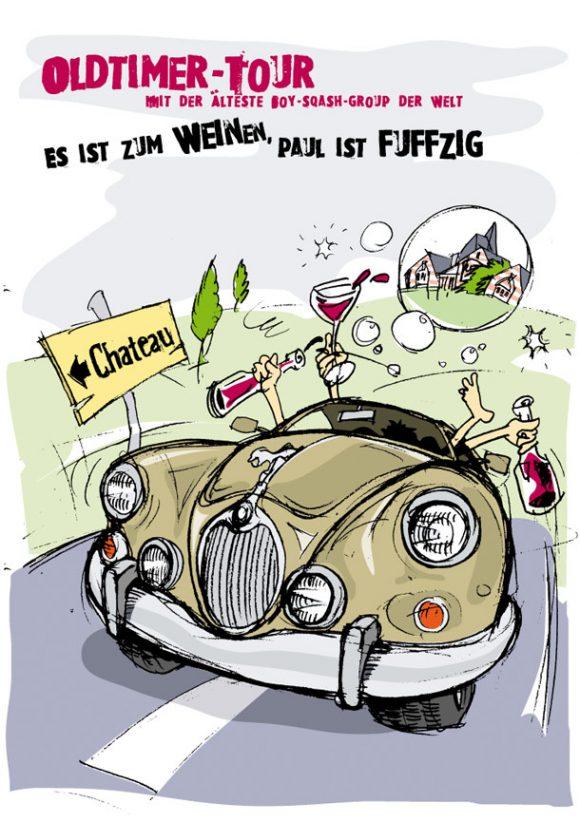 Oldtimertour - Plakat