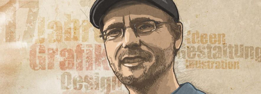 Grafik-Designer und Freelancer Alexander Schaaf-Buschendorf