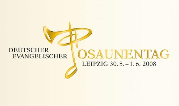 Logo für den Deutschen Evangelischen Posaunentag in Leipzig