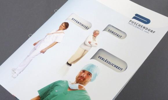 Imagefolder für die Puschendorf Textilservice GmbH