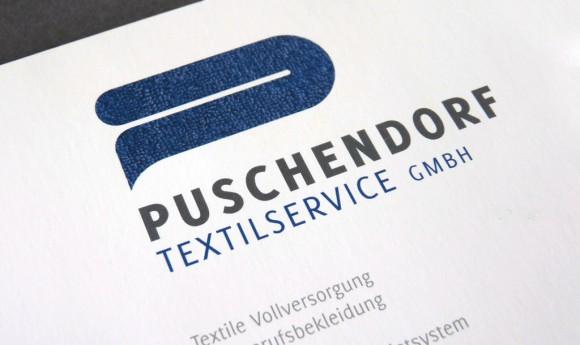 Logo für die Puschendorf Textilservice GmbH