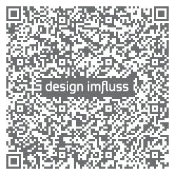 QR Code design imfluss VCard