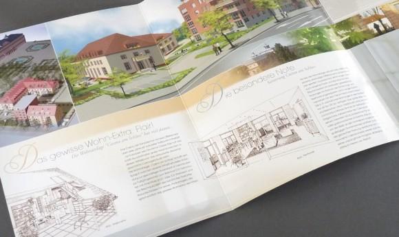 Präsentationsmappe für die Wohnanlage »Casino am Schloss« in Rastatt