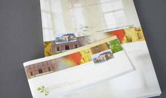 Corporate Design für die Wohnanlage »Casino am Schloss« in Rastatt