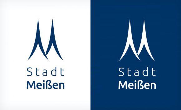 Das neue Stadt Meißen Logo