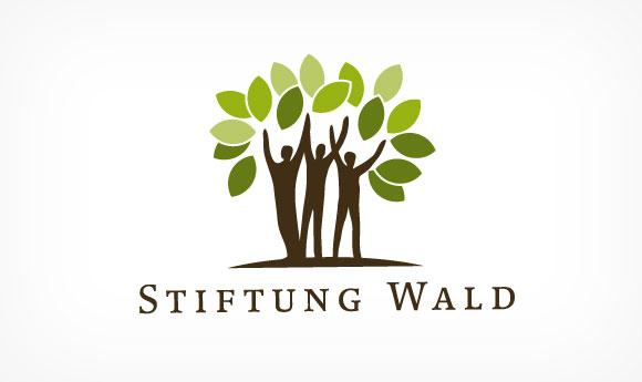 Logo für die Stiftung Wald
