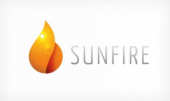 Logo-Variante für die Energie-Gewinnungs-Firma SUNFIRE
