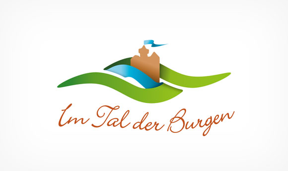Marketing Logo-Alternative »Im Tal der Burgen«
