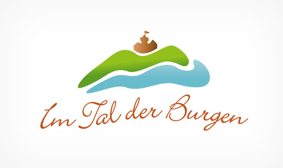 Marketing Logo »Im Tal der Burgen«