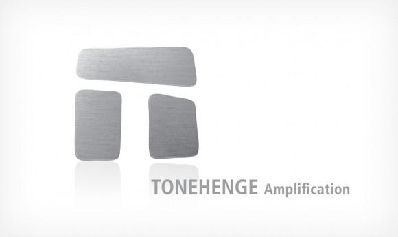Logo-Variante für Tonehenge Amplifikation, Gitarrenverstärkung
