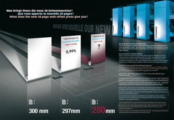 Mailing für die Firma VPM Druck