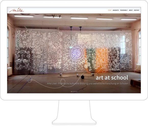 arte-lilee-Webdesign