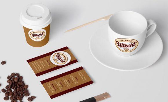 Bäckerei Uttecht Corporate Design
