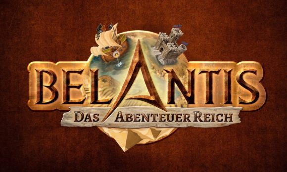 Belantis Logo mit Illustrationen