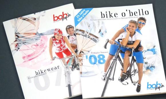 Kataloge für bike o´bello, Europas führender Fachversand für Radsportbekleidung
