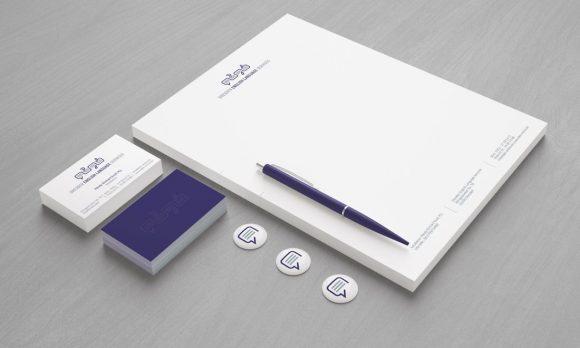 Dresden English Language Services Corporate Design