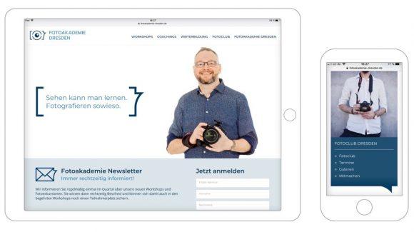 Fotoakademie Dresden für mobile Endgeräte