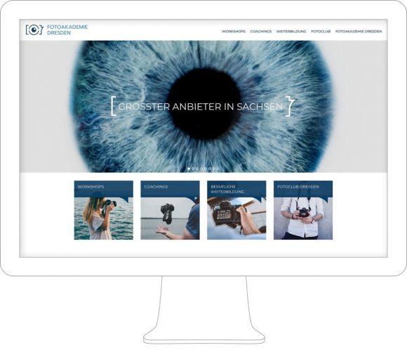 Fotoakademie Dresden Webdesign