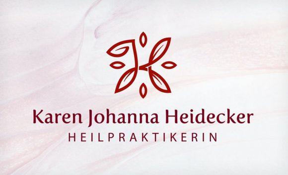 Karen Johanna Heidecker Heilpraktikerin Logo