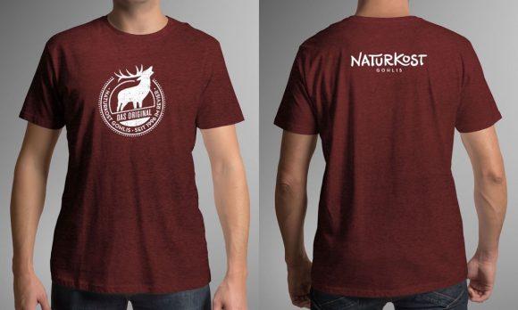 Naturkost Gohlis-Platzhirsch T-shirt