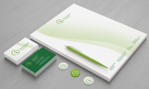 Physiotherapie Lindner Corporate Design